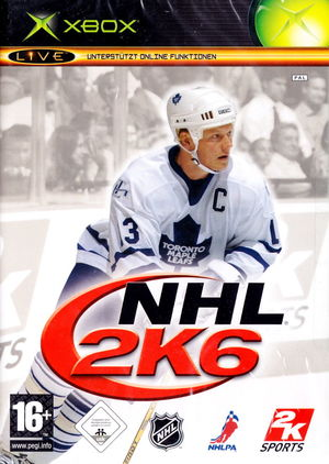 Cover for NHL 2K6.