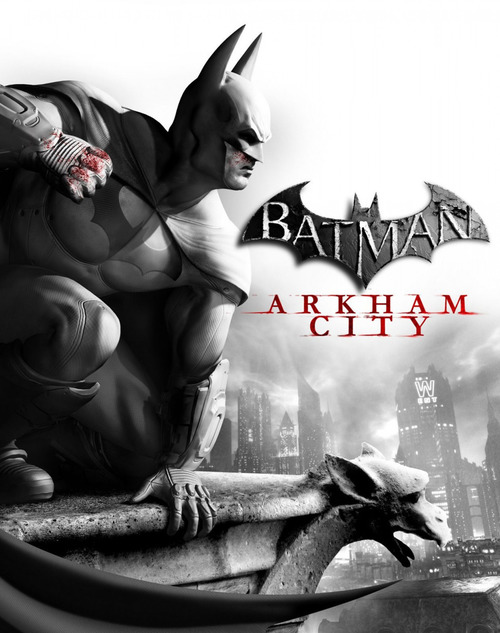 Cover for Batman: Arkham City.