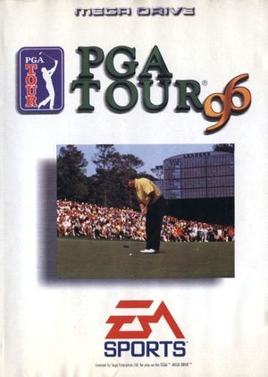 Cover for PGA Tour 96.