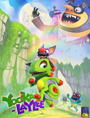 Cover for Yooka-Laylee.