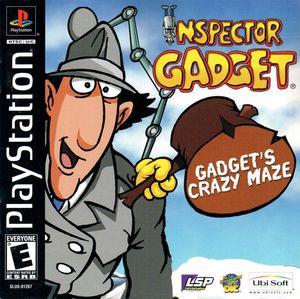 Cover for Inspector Gadget: Gadget's Crazy Maze.