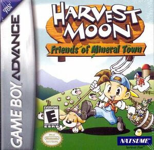 Cover for Harvest Moon: Friends of Mineral Town.