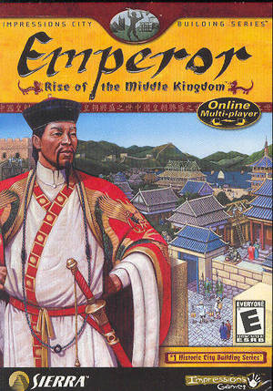 Cover for Emperor: Rise of the Middle Kingdom.