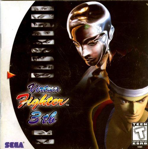 Cover for Virtua Fighter 3.