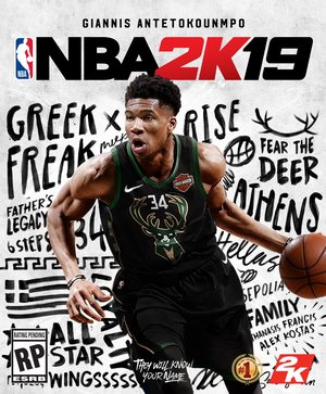 Cover for NBA 2K19.