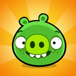Cover for Bad Piggies.