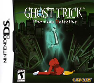 Cover for Ghost Trick: Phantom Detective.