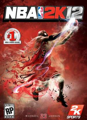 Cover for NBA 2K12.