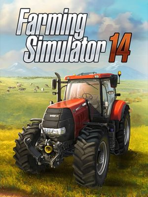 Cover for Farming Simulator 14.