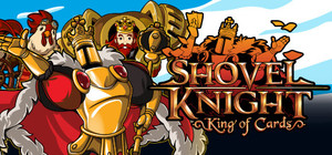 Cover for Shovel Knight: King of Cards.