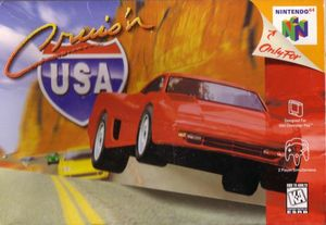 Cover for Cruis'n USA.