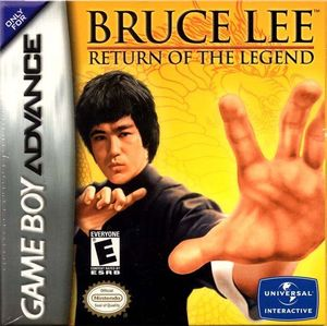 Cover for Bruce Lee: Return of the Legend.