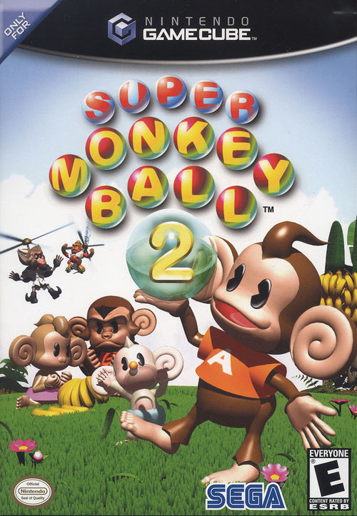 Cover for Super Monkey Ball 2.