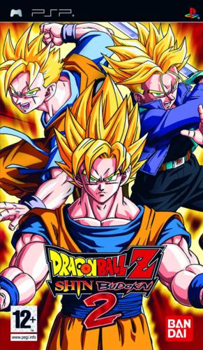 Cover for Dragon Ball Z: Shin Budokai 2.
