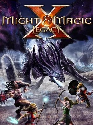 Cover for Might & Magic X: Legacy.