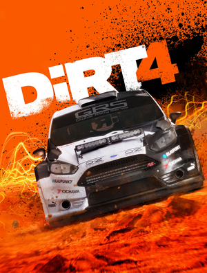 Cover for DiRT 4.