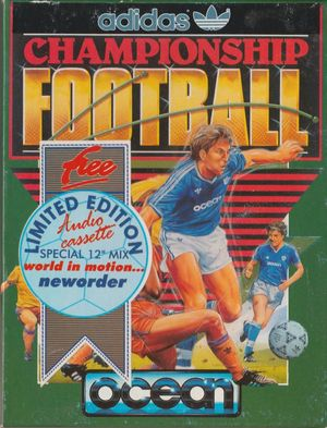 Cover for Adidas Championship Football.