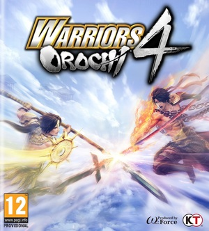 Cover for Warriors Orochi 4.