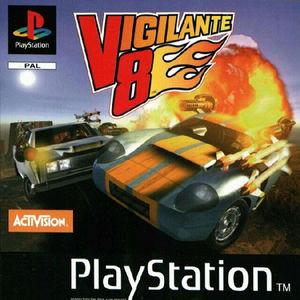 Cover for Vigilante 8.