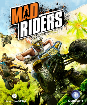 Cover for Mad Riders.