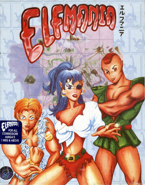 Cover for Elfmania.