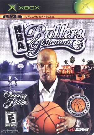Cover for NBA Ballers: Phenom.