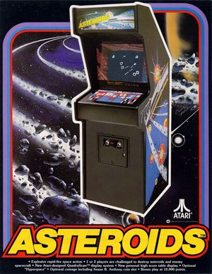 Cover for Asteroids.