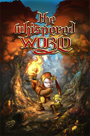 Cover for The Whispered World.