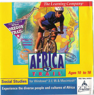 Cover for Africa Trail.