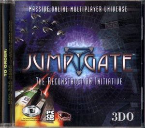 Cover for Jumpgate: The Reconstruction Initiative.