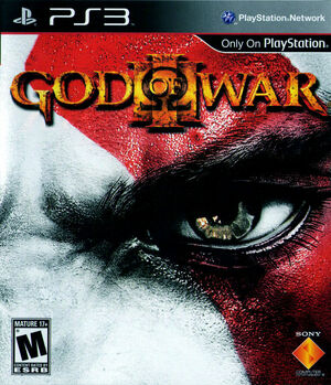 Cover for God of War III.