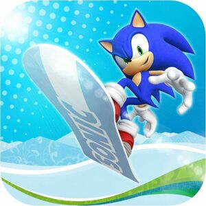 Cover for Sonic at the Olympic Winter Games.