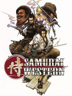 Cover for Samurai Western.