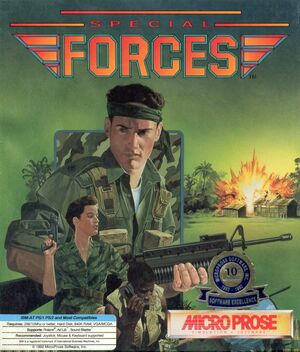 Cover for Special Forces.