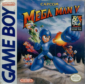 Cover for Mega Man V.