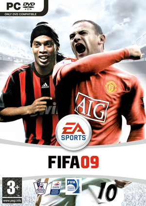Cover for FIFA 09.