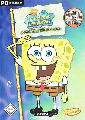 Cover for SpongeBob SquarePants: Battle for Bikini Bottom.