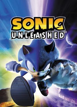 Cover for Sonic Unleashed.