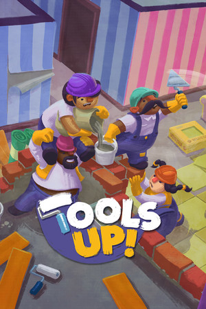 Cover for Tools Up!.