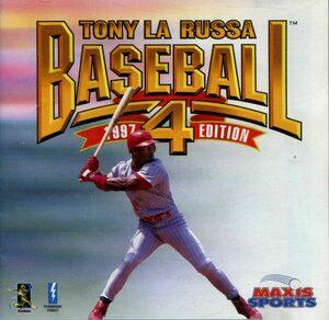 Cover for Tony La Russa Baseball 4.