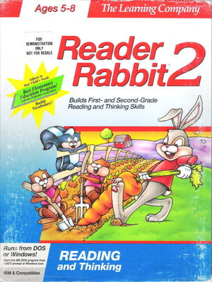 Cover for Reader Rabbit 2.
