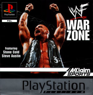 Cover for WWF War Zone.