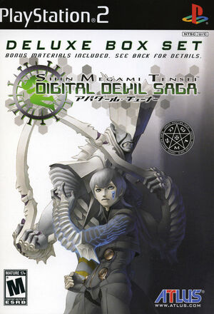 Cover for Shin Megami Tensei: Digital Devil Saga.