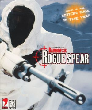 Cover for Tom Clancy's Rainbow Six: Rogue Spear.