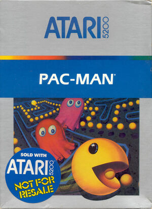 Cover for Pac-Man.