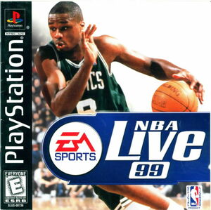 Cover for NBA Live 99.