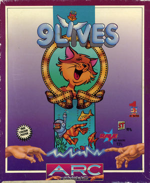 Cover for 9 Lives.