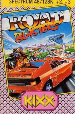 Cover for RoadBlasters.