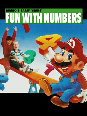 Cover for Mario's Early Years! Fun with Numbers.