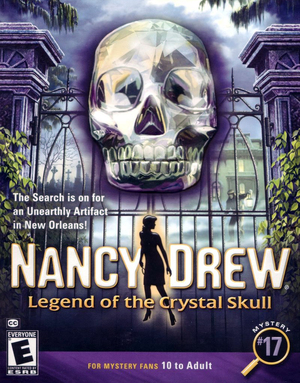 Cover for Legend of the Crystal Skull.